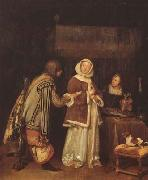 TERBORCH, Gerard The Letter (mk08) oil painting