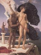 Lord Frederic Leighton Frederic Leighton,Daedalus and Icarus (mk23) oil painting