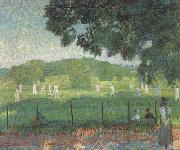 Frederick spencer gore The Cricket Match (nn02) oil painting
