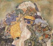 Gustav Klimt Baby (detail) (mk20) oil painting reproduction