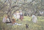 James Charles The Picnic (nn02) oil painting