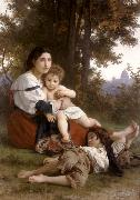 Adolphe William Bouguereau Rest (mk26) oil painting
