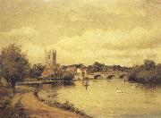 Alfred de breanski Henley-on-Thames (mk37) oil painting