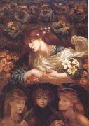 Dante Gabriel Rossetti The Blessed Damozel (mk28) oil painting reproduction