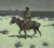 Frederic Remington The Luckless Hunter (mk43) oil painting