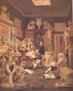 Johann Zoffany Charles Towneley's Library in Park Street (nn03) oil painting
