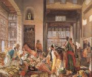 John Frederick Lewis An Intercepted Correspondance,Cairo (mk32) oil painting