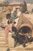 John William Waterhouse Diogenes (mk41) oil painting