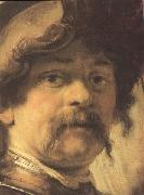 REMBRANDT Harmenszoon van Rijn Details of The Standard-earer (mk33) oil painting reproduction