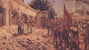 Richard Caton Woodville Khartoum Memorial Service for General Gordon (mk25) oil painting