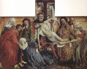 Rogier van der Weyden The Descent from the Cross (nn03) oil painting reproduction