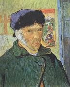Vincent Van Gogh Self-Portrait with Bandaged Ear (nn04) oil painting reproduction