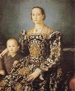 Agnolo Bronzino Eleonora of Toledo and her Son Giovanni oil painting