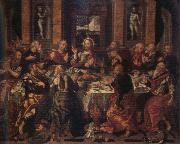 Alonso Vazquez Last Supper oil painting