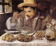 Annibale Carracci The Beaneater oil painting