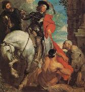 Anthony Van Dyck St Martin Dividing his Cloak oil painting