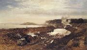 Benjamin Williams Leader The Excavation of the Manchester Ship Canal oil painting