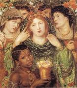 Dante Gabriel Rossetti The Bride oil painting reproduction
