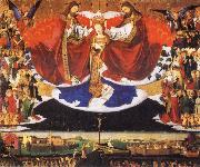 Enguerrand Quarton Coronation of the Virgin oil painting