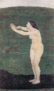 Ferdinand Hodler Communication with the Infinite oil painting