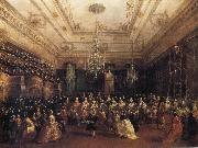 Francesco Guardi Venetian Gala Concert oil painting reproduction