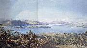 Francis Oliver Finch View of Loch Lomond oil painting