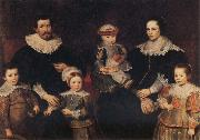 Frans Francken II The Family of the Artist oil painting