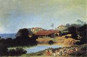 Frans Post Hacienda oil painting reproduction
