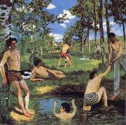 Frederic Bazille Bathers oil painting reproduction
