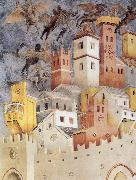 GIOTTO di Bondone The Devils Cast our of Arezzo oil painting reproduction