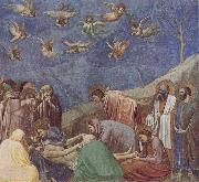 GIOTTO di Bondone The Lamentation of Christ oil painting reproduction