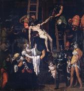 Machuca, Pedro Deposition oil painting