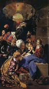 Maino, Juan Bautista del Adoration of the Magi oil painting reproduction