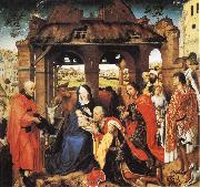 Roger Van Der Weyden Adoration of the Magi oil painting reproduction