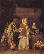 TERBORCH, Gerard The Letter oil painting reproduction