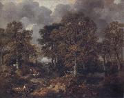 Thomas Gainsborough Gainsborough's Forest oil painting reproduction