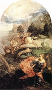 Tintoretto St George and the Dragon oil painting