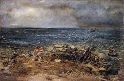 William Mctaggart The Emigrants oil painting reproduction