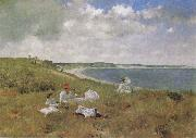 William Merrit Chase Leisure oil painting