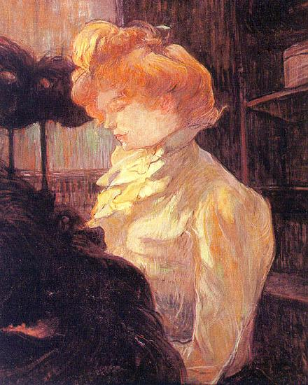 Henri  Toulouse-Lautrec The Milliner