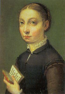 ANGUISSOLA  Sofonisba Self-Portrait  ghjlytyty oil painting image