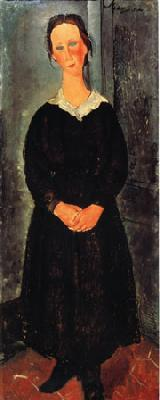Amedeo Modigliani The Servant Girl oil painting image