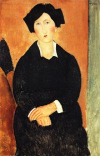 Amedeo Modigliani The Italian Woman oil painting image