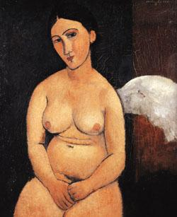 Amedeo Modigliani Seated Nude oil painting image