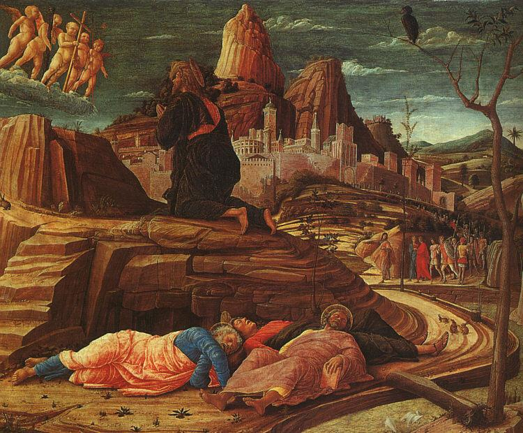 Andrea Mantegna The Agony in the Garden oil painting image