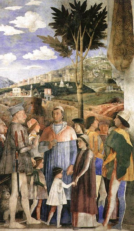 Andrea Mantegna The Meeting oil painting image