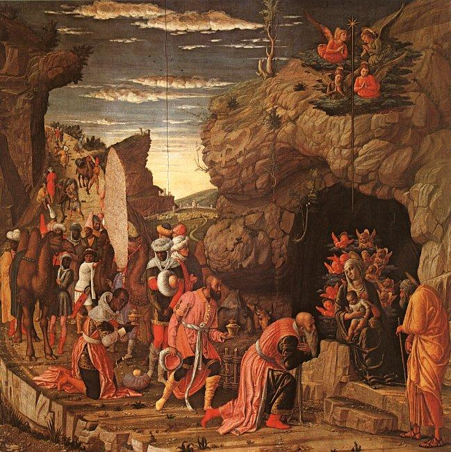 Andrea Mantegna Adoration of the Magi oil painting image