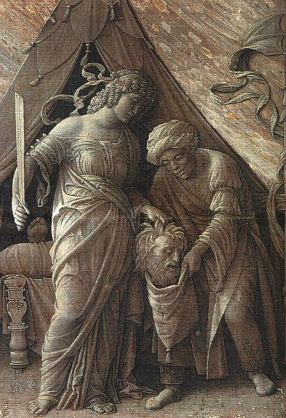 Andrea Mantegna Judith and Holofernes oil painting image
