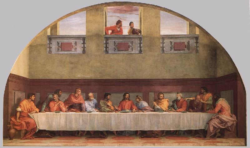 Andrea del Sarto The Last Supper ffgg
