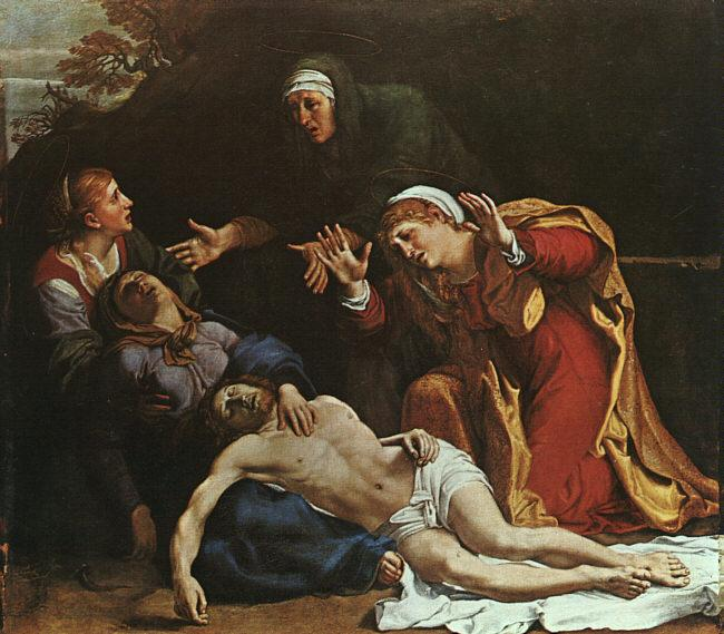 Annibale Carracci The Dead Christ Mourned